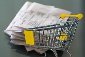 Trolley full of receipts - tax time questions